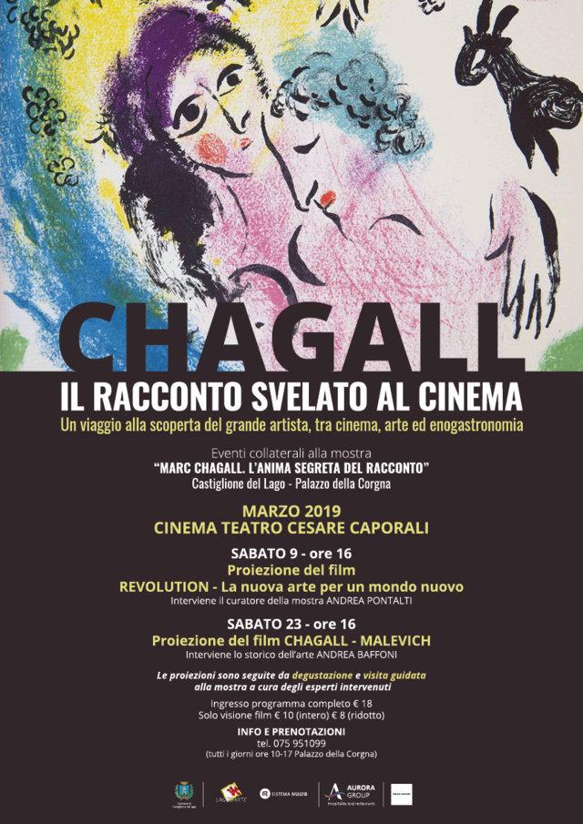 Chagall il racconto svelato al cinema