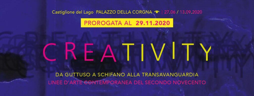 Creativity - proroga al 29 novembre 2020